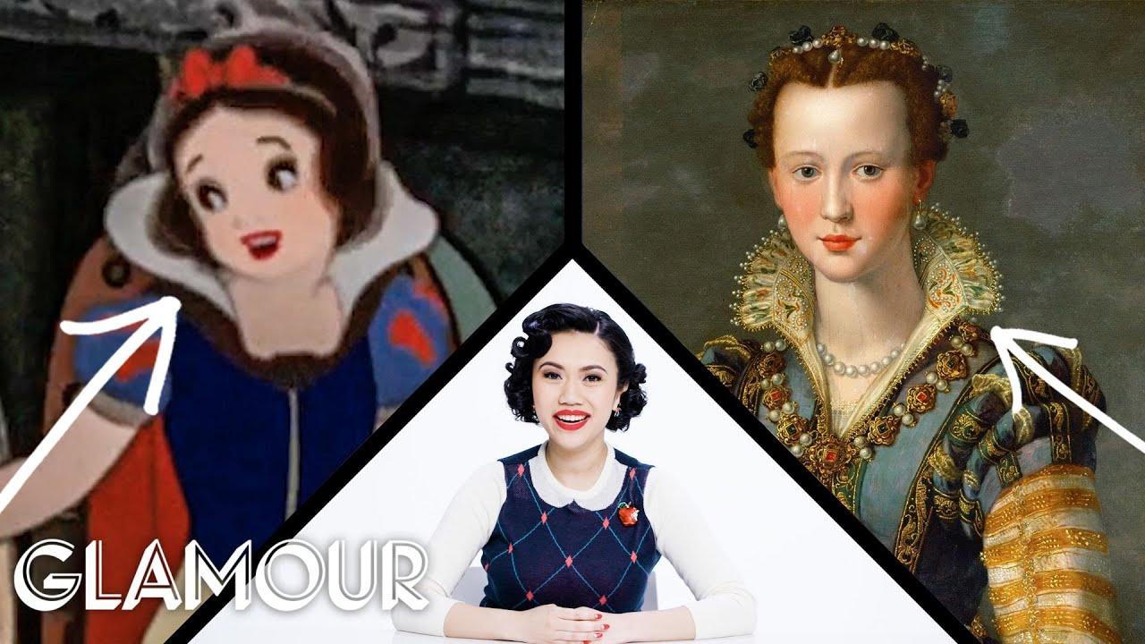 Fashion Expert Fact Checks Snow White's Costumes | Glamour