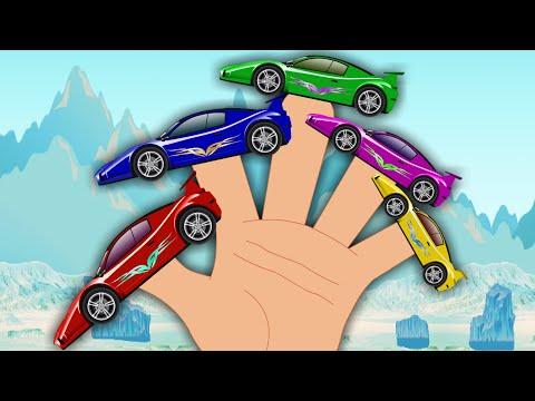 Sports Car Finger Family | Songs For Kids