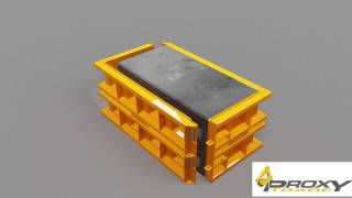 Formy do bloków i płyt betonowych od PROXY Trade Sp.z o.o.