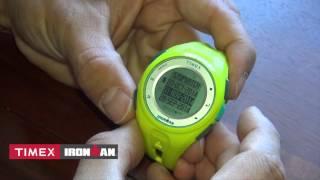 new watch timex ironman run x20 gps with dave erickson