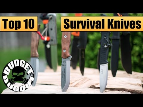 Top 10 Best Survival Knives | Best Fixed Blades For Survival & Bushcraft — Budget Bugout 2015