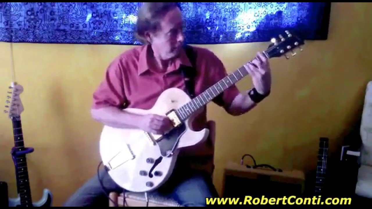 Lace Walker Sleepwalk Jazz Guitar Chord Melody Youtube