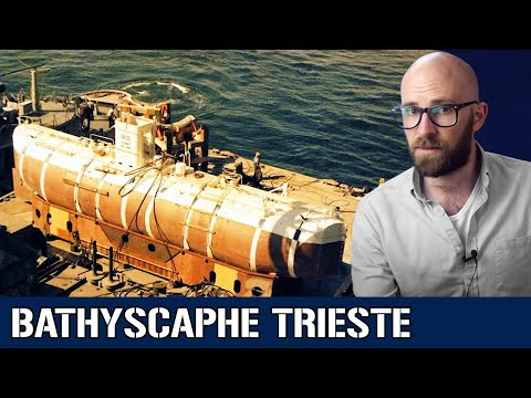 Bathyscaphe Triest: The Quest to Actually Dive 20,000 Leagues Under the Sea