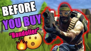 "FORTNITE: BEFORE YOU BUY ""BANDOLIER"" SKIN REVIEW 