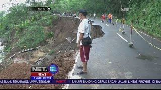 Download Video Akibat Longsor, Jalan Propinsi di Brebes Ambles - NET 12 MP3 3GP MP4