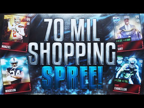 70 Million Coin Shopping Spree!? - Madden Mobile 16
