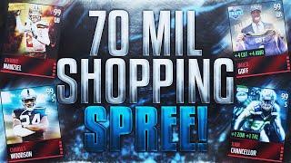 70 Million Coin Shopping Spree!? - Madden Mobile 16