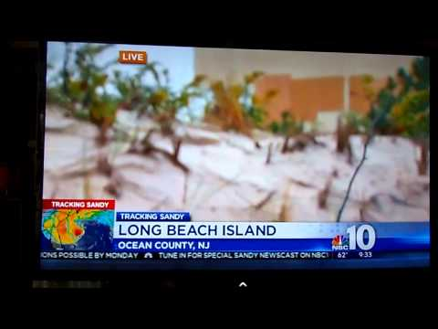 LBI report NBC10 - Hurricane Sandy
