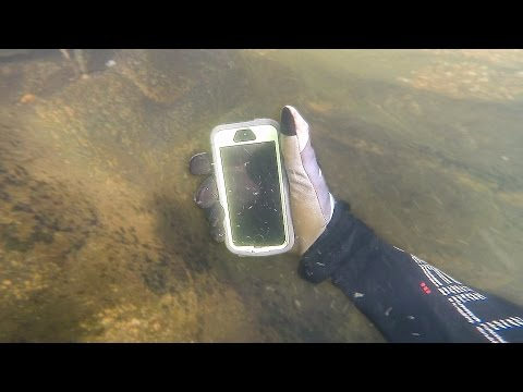 Thumbnail: Found Lost iPhone in River While Scuba Diving! (Returned to Owner)