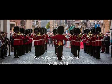 Scots Guards  7-9- 18 menenpoort