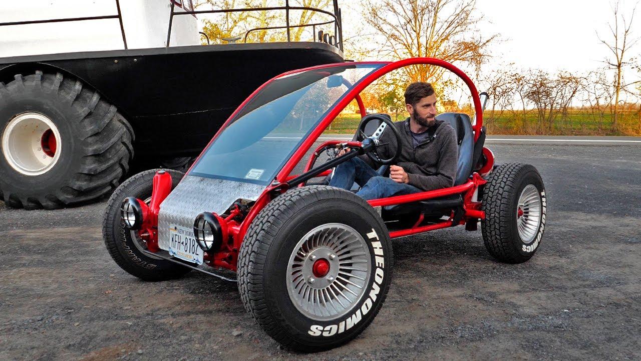 Driving The Custom Frame Vw Volkswagen Dune Buggy Ep3 Youtube
