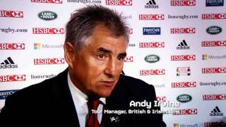 TOTAL RUGBY AUDIO: Andy Irvine on Lions Rugby Tour to Australia