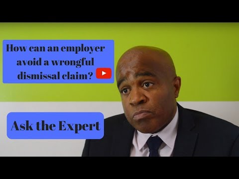 How to avoid a wrongful dismissal claim? Ask the Expert