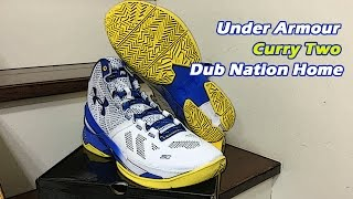 "UA Curry 2 ""Dub Nation Home"" Unboxing"