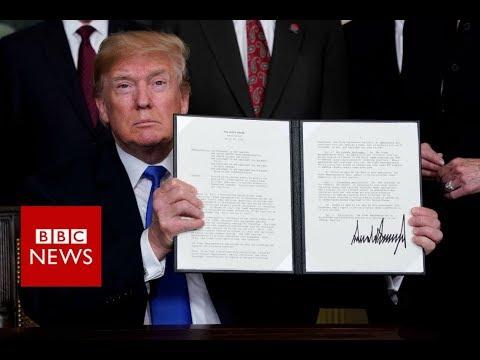 Trump announces $50bn in China tariffs - BBC News