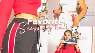 Unboxing shopping haul try on h&m,zara,etc Indonesia  | richaanggreni