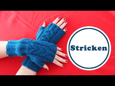 Stulpen | stricken für Weihnachten | DIY | schnelles Geschenk