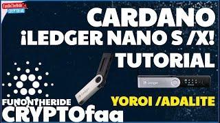 ¡TUTORIAL CARDANO LEDGER NANO! 🔐🤓 /CRYPTOfaq