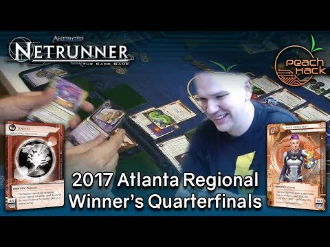 Netrunner - Replicating Perfection vs. Alice Merchant - 2017