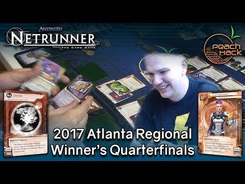 Netrunner - Replicating Perfection vs. Alice Merchant - 2017 Atlanta Regional - Winner's Quarters