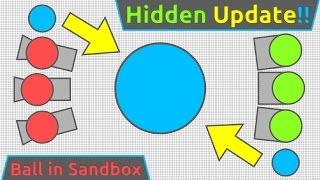 """NEW HIDDEN LVL45 """"BALL"""" UPDATE!! - Diep.io New Class in Sandbox!!"""