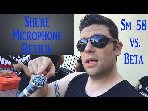 Microphone Review: Shure SM 58 vs Shure Beta 58