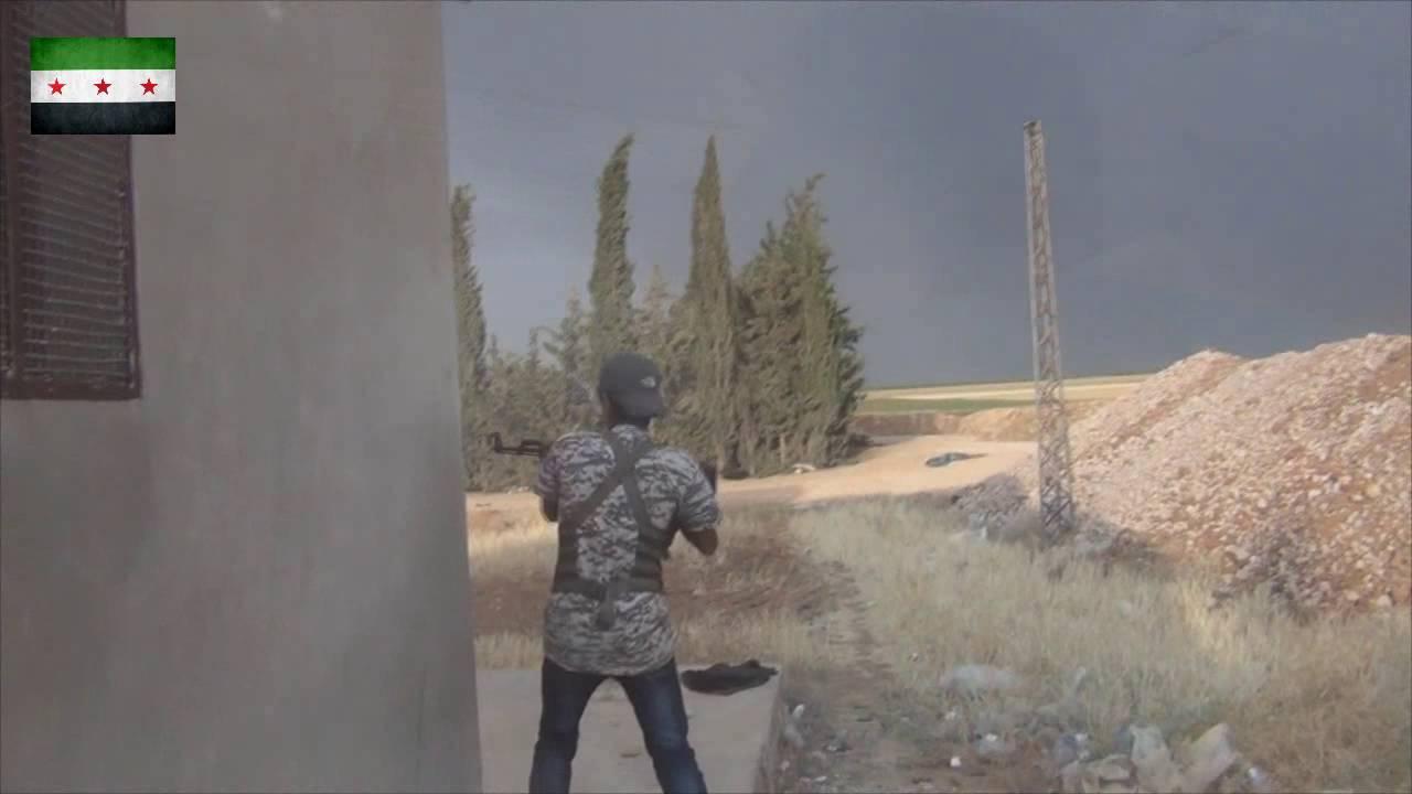 الفرقة 13 جانب من الاشتباكات الدائرة ضد تنظيم داعش بريف حلب الشمالي 23-6-2016