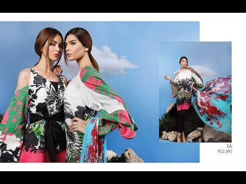 74e5c477ab Sana Safinaz Muzlin Lawn Collection 2017 Vol 2 With Price - YouTube
