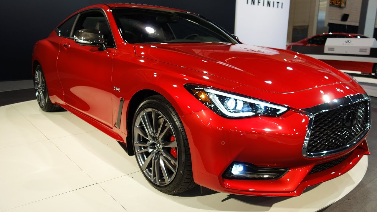 2017 Infiniti Q60 Awd Red 400hp Sport Car Showcase