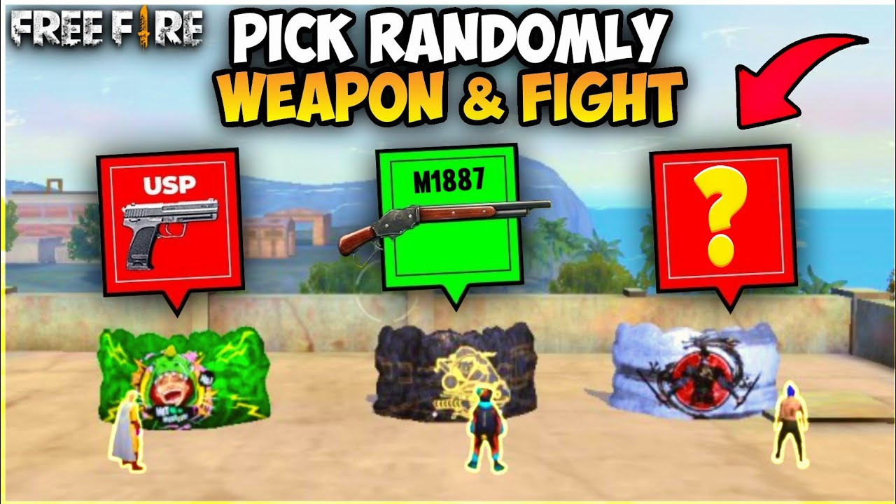 X1 IN LUCK!! DON'T CHOOSE THE WRONG ICE ON THE FREE FIRE - GARENA FREE FIRE