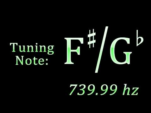 Tuning Note: F-sharp / G-flat