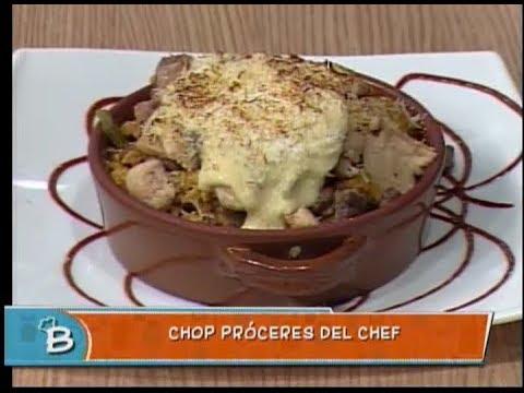 Chop próceres del chef