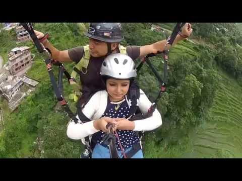 paragliding at Gangtok