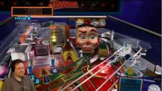 Funhouse - Pinball Hall of Fame: The Williams Collection (XBox 360) (Part 4) - Croooow Plays