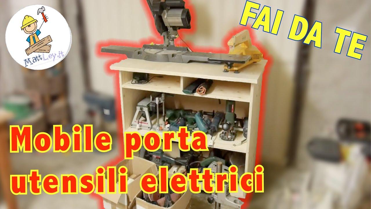 Tavolo Da Lavoro Lidl : Banco da lavoro porta utensili elettrici fai da te youtube