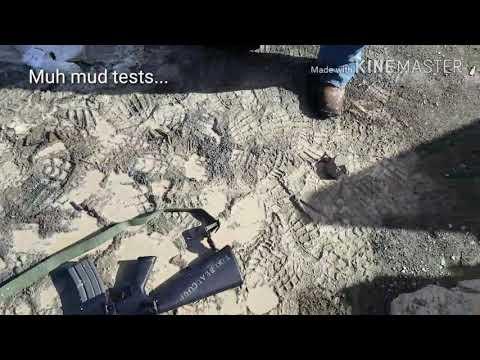 M16 Vs AK Mud Tests