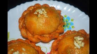 खास दिवाळी साठी चन्द्रकला रेसिपी   Chandrakala Sweet Recipe By Tanuja