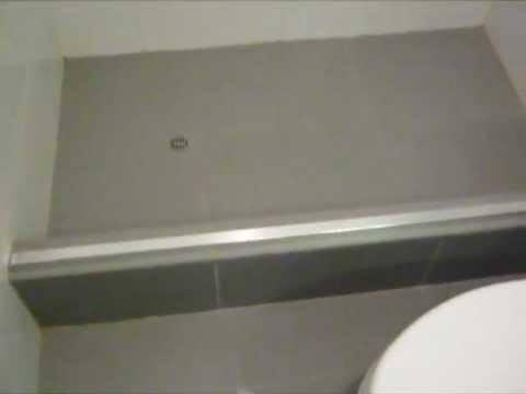 Instalacion de puerta de ducha modelo doble corrediza - Puertas para duchas ...
