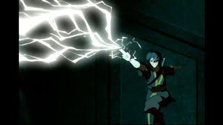 Zuko fights Ozai with lightning HD