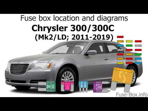 [SCHEMATICS_4NL]  Fuse box location and diagrams: Chrysler 300/300C (2011-2019) - YouTube | 2013 Chrysler 300 Fuse Box |  | YouTube