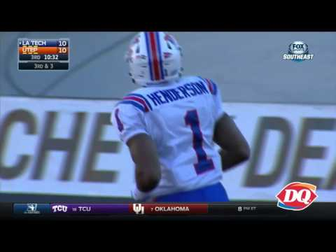 RiDQulous Play of The Week (11/23/15) @LATechFB Carlos Henderson TD Catch vs UTEP