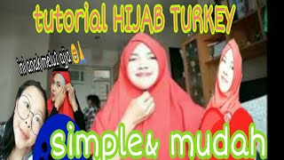 Tutorial Hijab TURKEY 2019 Simpel