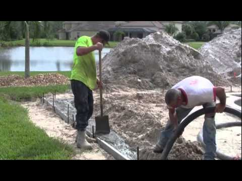 Contemporary Pools Pool Building Video