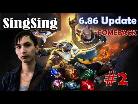 SingSing - Techies Pro Gameplay | COMEBACK | Dota 2 MMR #2