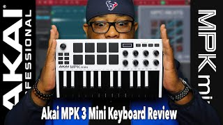 Akai Professional MPK Mini MK3 Review and MPC Beats Quick Start