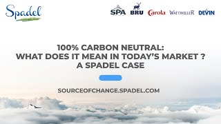 Spadel - Carbon Neutral Webinar