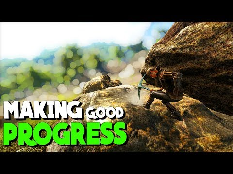 Getting stuff done! | Solo New Official PvP Servers | ARK: Survival Evolved | Ep 3