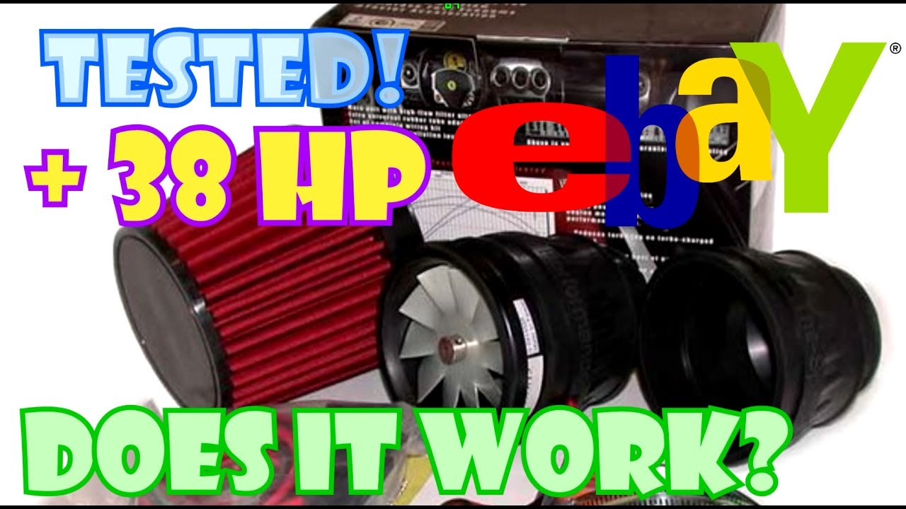 Ebay Electric Supercharger Test
