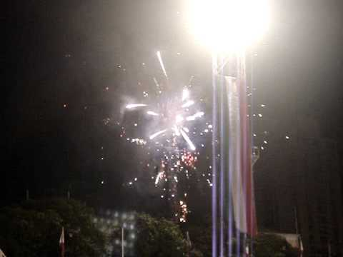 95th INC anniversary fireworks @ Rizal Stadium