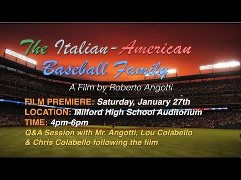 "Roberto Angotti Discusses ""The Italian-American Baseball Family"""